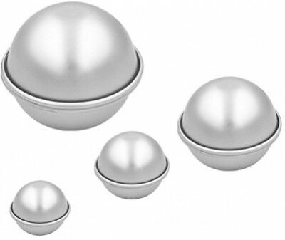 3D Aluminum Ball Sphere Bath Bomb Cake Mould