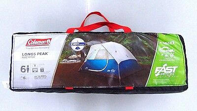 Coleman Longs Peak Fast Pitch Dome Tent 6 People