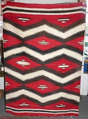 """Clean Large Attractive Navajo Transitional Rug - 51"""" X &71"""""""