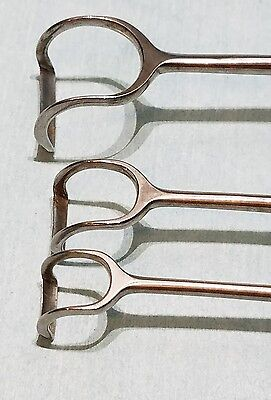 WECK Medical Surgical Instruments Stainless Lots of 3
