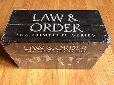 Law and Order: The Complete Series DVD 104-Disc BOX SET 1-20 free shipping