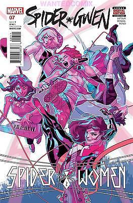 Spider-Gwen #7 2016 Marvel Comics