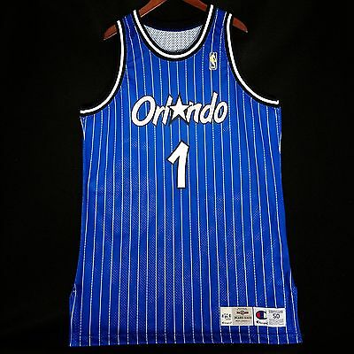 100% Authentic Penny Hardaway Champion UDA Game Issued Autographed Magic Jersey