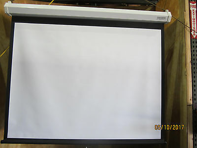 "Da Lite 91841 Model C Matte White CSR Pull Down Screen 50"" x  67"" New in Box"