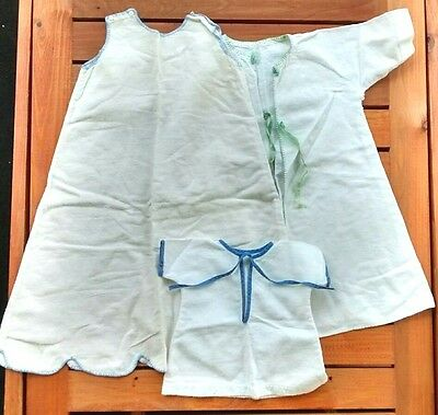 Vintage Handmade Flannel Baby Toddler Child Gowns Slips Lot