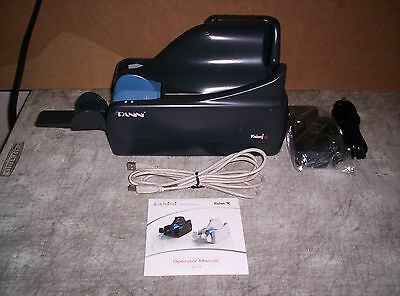Panini Vision X SD Check Scanner w/ PS and USB Cable 50 DPM Single Feeder Inkjet