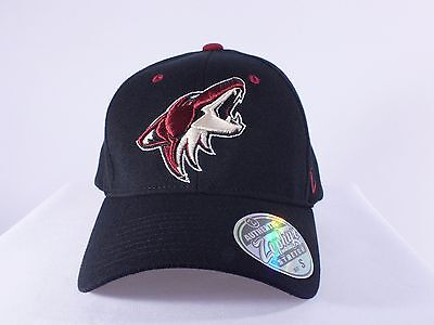 Phoenix Coyotes Nhl Adult Small Flex/fitted Cap Hat (H-38)