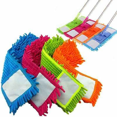 Replacement Cloth Dust Cleaning Pad Floor Cleaner Mop Head Microfiber