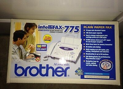 Brother Intellifax 775 Plain Paper Fax with Phone and Copier