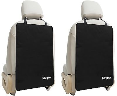 Car Seat Back Protectors By Lebogner - Luxury Kick Mat Seat Covers For The Ba...