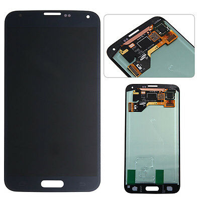OEM LCD Screen Touch Digitizer Display Replacement For Samsung Galaxy S5 G900 bl