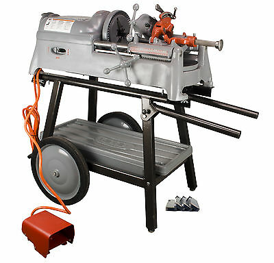 SDT Reconditioned RIDGID® 535 Pipe Threader OS 811 DieHead 150A Cart 2 Die Sets