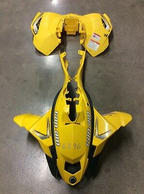 Front Fenders Rear Plastic Side Panels Can Am Canam Ds450 Ds 450 2008 2009 2011
