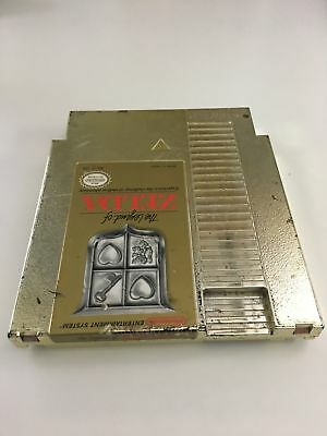 The Legend of Zelda Nintendo NES Game Cartridge Gold Cleaned Tested Free Ship