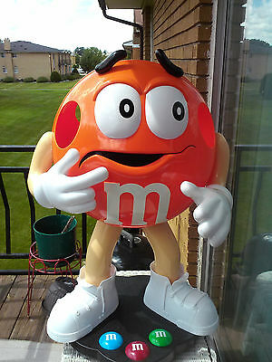 M&M Candy Advertising Store Display