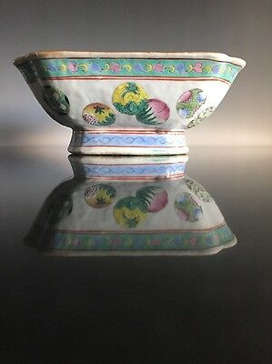 A Large Chinese Porcelain Famille Decorated Bowl Red Seal Underside