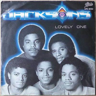 """7"""" Jacksons - Lovely One - Holland 1980 - RARE"""