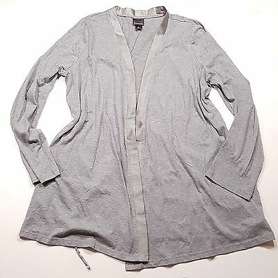 Oh baby! by Motherhood Gray Long Sleeve Maternity Wear Cardigan, Womens L