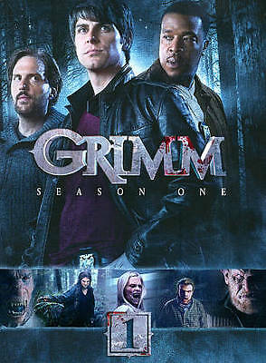 Grimm: First Season One 1 (DVD, 2012, 5-Disc Set) Brand New