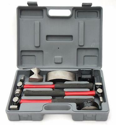 Orcon 7 Piece Hammer & Dolly Heavy Duty Auto Car Body Panel Beating Repair Kit
