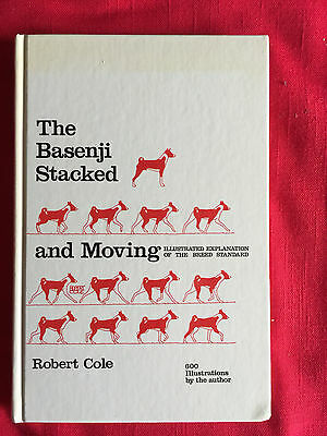The Basenji Stacked And Moving By Robert Cole-Signed- 1St Edition