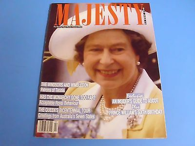 MAJESTY MAGAZINE THE MONTHLY ROYAL REVIEW VOLUME 9 No 2
