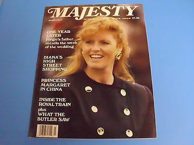 MAJESTY MAGAZINE THE MONTHLY ROYAL REVIEW VOLUME 8 No 3