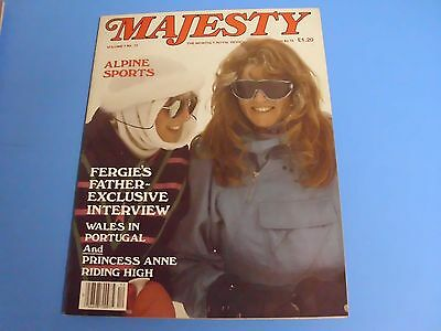 MAJESTY MAGAZINE THE MONTHLY ROYAL REVIEW VOLUME 7 No 12