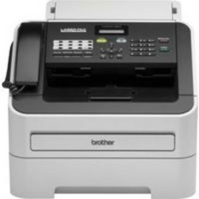 NEW FAB2840 FAX-2840, BROTHER FAX-2840 LASER PLAIN PAPER FAX WITH HANDSET...e.