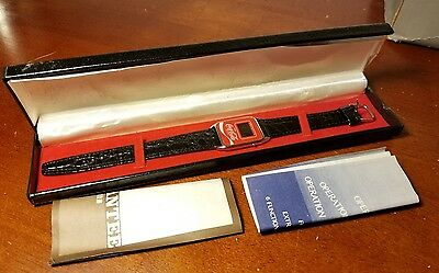 Vintage NOS Coca Cola LED Wrist Watch in Box