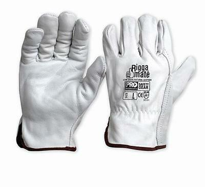 PRO CHOICE Cow Grain PREMIUM Rigger Glove Riggers Gloves (12 PACK) | AUTH DEALER