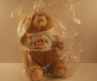 Hard Rock Cafe Plush Bear from 1990's logo t shirt with Save the Planet Cozumel