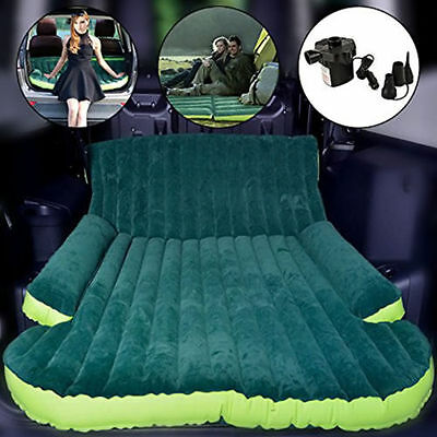 Auto SUV Inflatable Mattress Travel Car Back Seat  Air Bed  Camping double Sofa