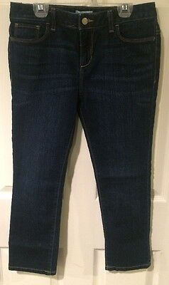 Girls Cropped Jeans By Old Navy Size 16