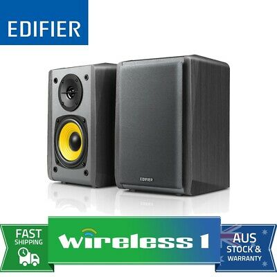 Edifier R1010BT 2.0 Bookshelf Speaker with Bluetooth - Black