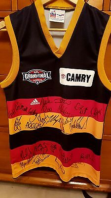 Crows 1998 Grand Final Signed Guernsey