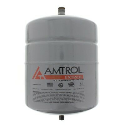 Extrol Boiler Expansion Tank 2.0 Gallon Hydronic Hot Water Heating System 12 PSI