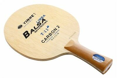 YINHE T11+  Balsa Carbon table tennis paddle /table tennis blade send bag case
