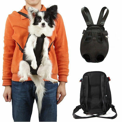 Portable Pet Puppy Dog Carrier Backpack Front Nylon Bag Tote Sling Carrier