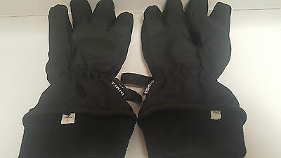 Ladies Ski Gloves - Large ( Black )