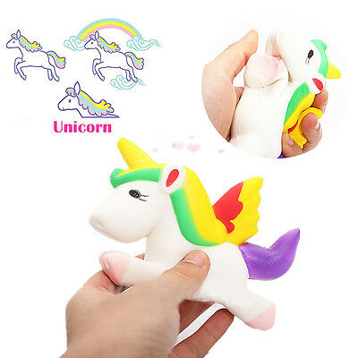 Kawaii Unicorn Squishy Slow Rising Cartoon Doll 12CM Press Animal Collection Toy