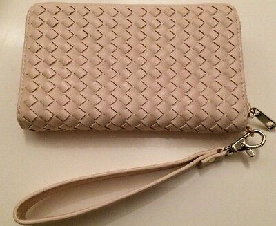 Forever New Pink Leather Purse Mobile Phone Holder Women's Wallet