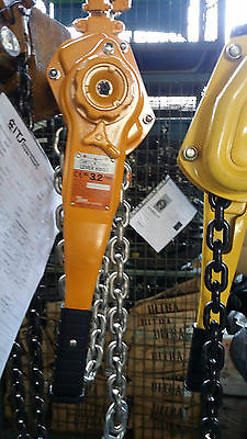 Lever Hoist 3.2 Ton x 1.5 meter Drop PWB Anchor Chain Winch 3200kg Lifting Block