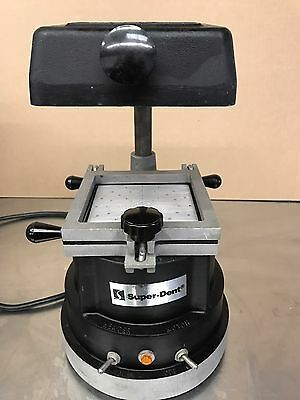 Super-Dent Dental Lab Vacuum Former for Mouth Guards S/n A1G0586M