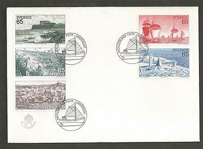 SWEDEN - 1974 The West Coast  - FIRST DAY COVER