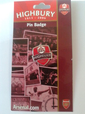 Arsenal Fc - Pin / Badge Highbury The Final Salute 1913-2006