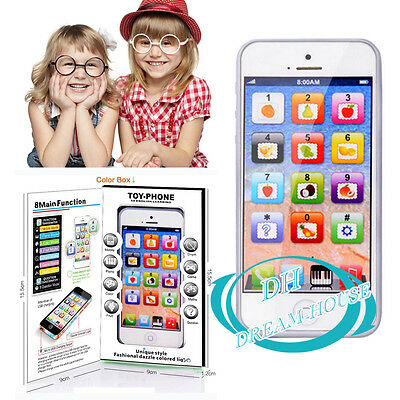 Y-phone 4 5S Educational Learning Kids Children Baby Phone Toys Game Play UK
