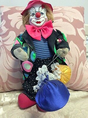 Toys  and Dolls. Colourfull Clown