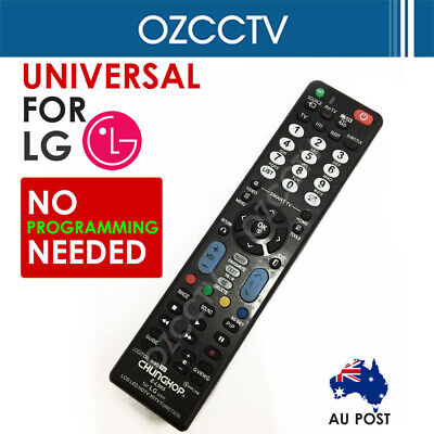 LG Smart TV NO PROGRAMMING Universal 3D HDTV LED LCD Remote Control Controller