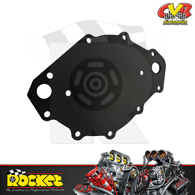 Water Pump Backing Plate Billet Aluminum Black Anodized For BBF 429//460